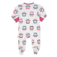 Baby Girls Owl sleepsuit