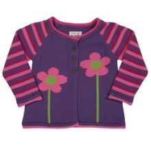 Baby Girls Flower cardi