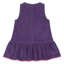 Baby Girls Pom-pom cord pinafore