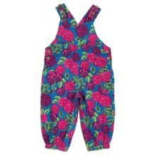 Baby Girls Tea rose dungaree