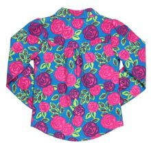 Girls Tea rose blouse