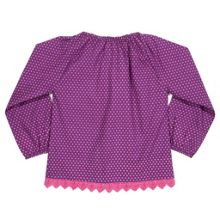 Girls Polka dot blouse