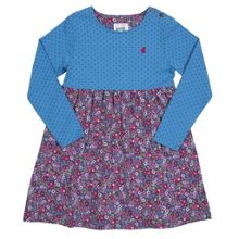 Girls Ditsy spot dress