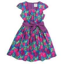 Girls Tea rose party dress