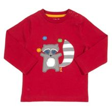 Baby Boys Juggling raccoon t-shirt