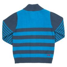 Baby Boys Stripy knitted cardi
