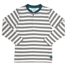 Boys Stripy grandad top