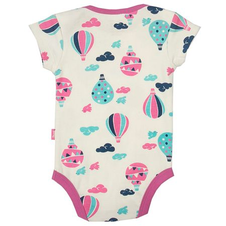 Kite Baby girls Balloons bodysuit