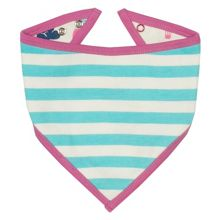 Kite Girls Stripy balloons bandana bib