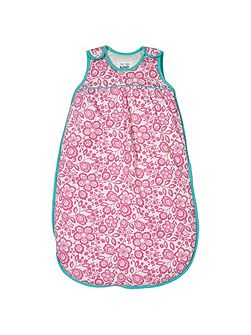 Baby girls Wildflower sleeping bag