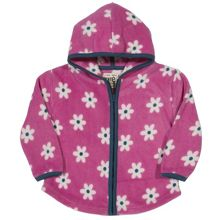 Kite Baby girls Daisy zip fleece