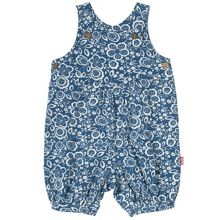 Kite Baby girls Wildflower dungaree romper
