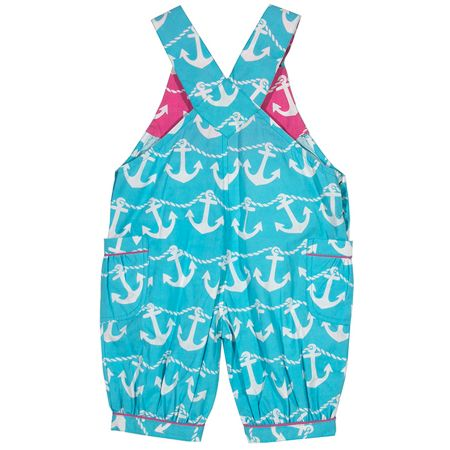 Kite Baby girls Anchor bib shorts