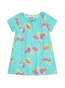 Baby girls Polka bird dress