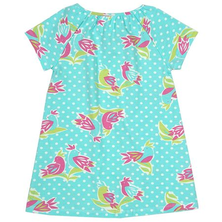Kite Baby girls Polka bird dress