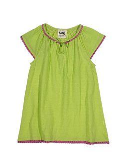 Girls Dobby spot tunic