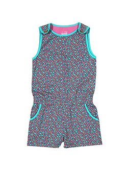 Girls Ditsy playsuit