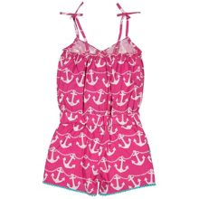Kite Girls Anchor playsuit