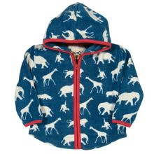 Kite Baby boys Safari zip fleece