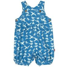 Kite Baby boys Seagull dungaree romper