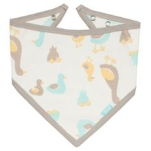 Kite Duckling organic cotton bandana bib