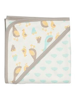 Duckling organic cotton blanket