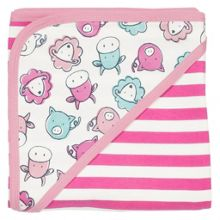 Kite Girls Farmyard organic cotton blanket