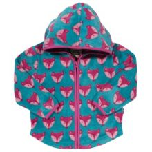 Kite Baby Girls Foxy zip fleece