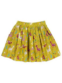 Girls Woodland skirt