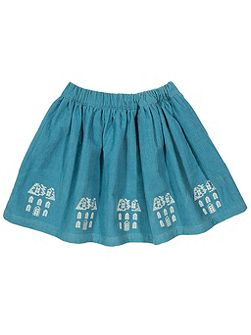 Girls Dolls house cord skirt