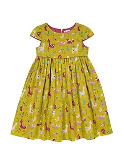 Girls Woodland party dress