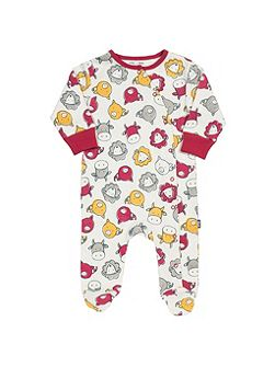 Boys Farmyard sleepsuit