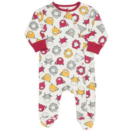 Kite Boys Farmyard sleepsuit