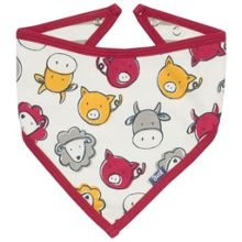 Kite Boys Farmyard organic cotton bib