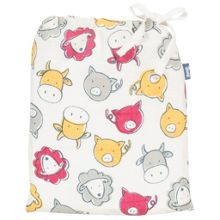 Kite Boys Farmyard organic cotton swaddle