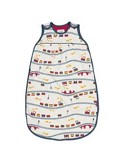 Boys Choo choo sleeping bag