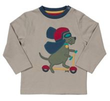 Kite Boys Scooting hound t-shirt
