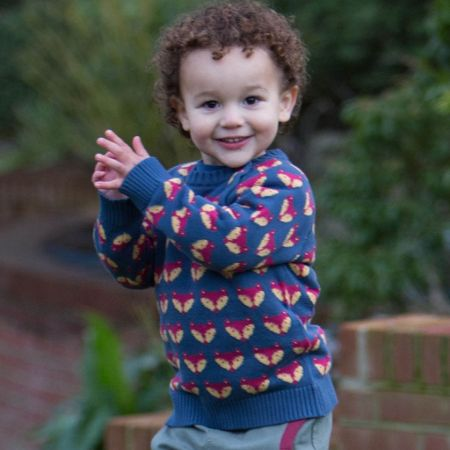 Kite Baby Boys Foxy jumper