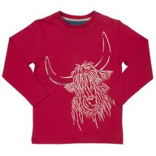 Kite Boys Hairy cow t-shirt