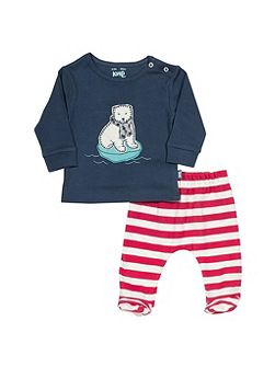 Baby`s Polar bear set