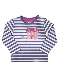 Girls Mousey house t-shirt