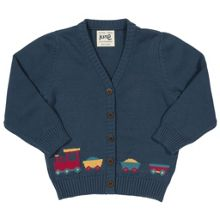Kite Boys Choo choo cardigan