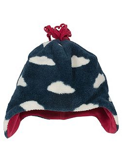 Boys Cloud fleece hat