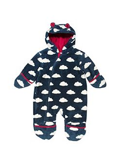 Baby Boys Cloud fleece all-in-one