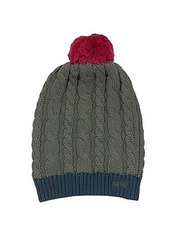Boys organic cotton bobble hat