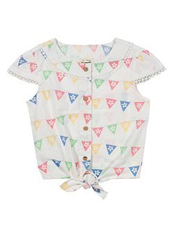Girls Bunting blouse