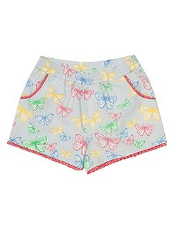 Girls Butterfly shorts