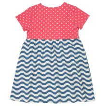 Kite Girls Wavy polka dress