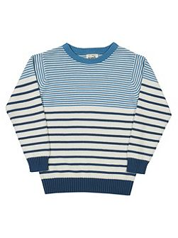 Boys Stripy jumper