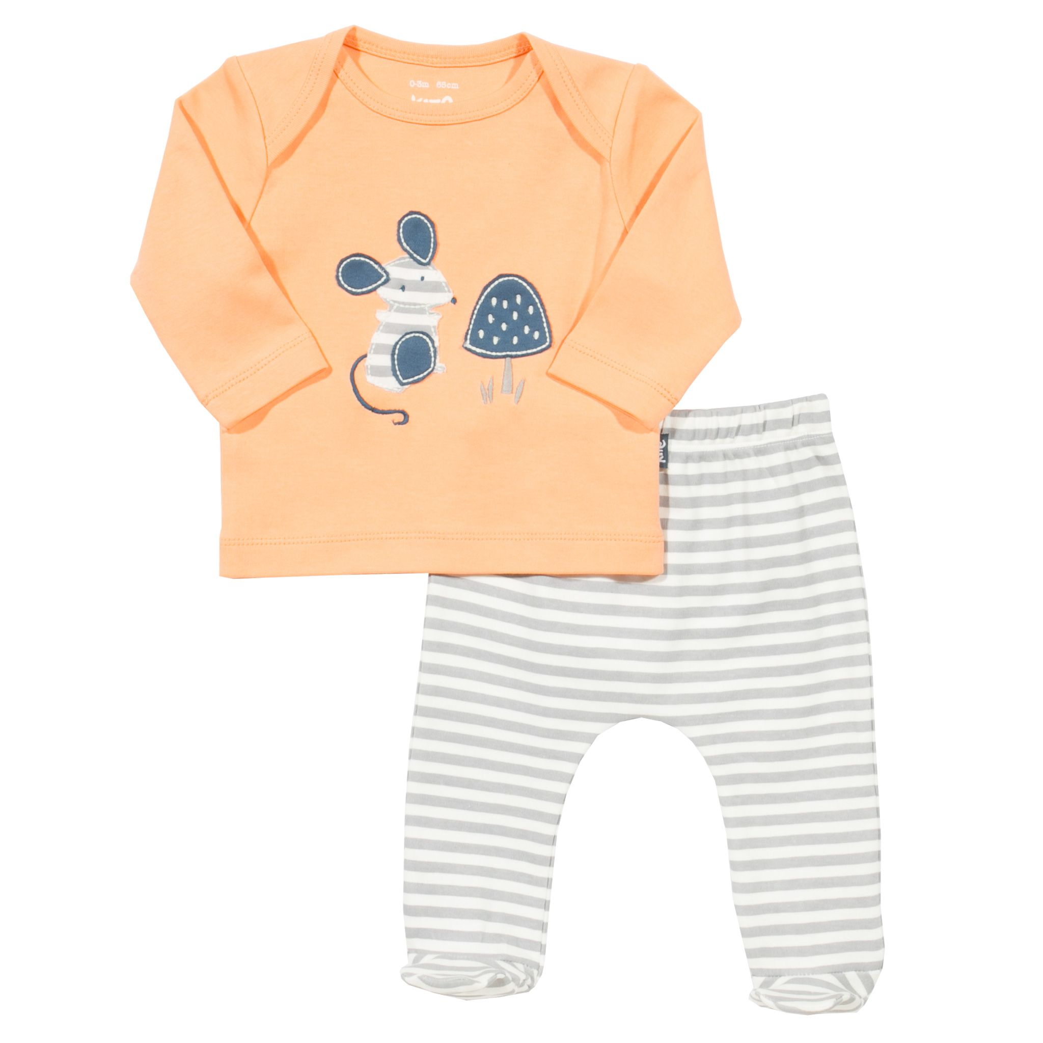 Click to view product details and reviews for Kite Baby Mousey Set Orange.